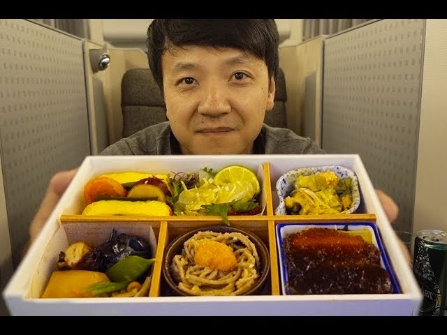 Japan Airlines JAL BUSINESS CLASS Tokyo to New York