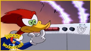 Woody Woodpecker Show | Mechanical Meany | Full Episode | Cartoons For Children