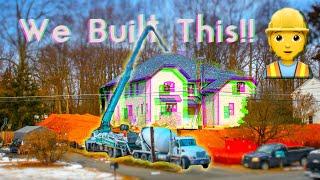 House Construction TimeLapse in 4K