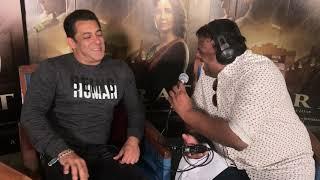 Salman Khan Best Ever Interview About Eid, His Fav. Circus & Panvel Farmhouse   Bharat   HrishiKay