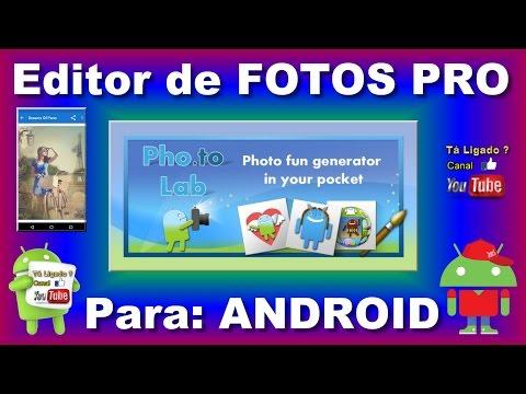 EDITOR DE FOTOS PARA ANDROID PHO.TO LAB PRO
