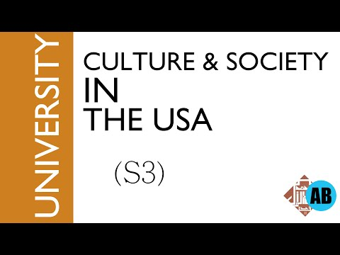 watch #10 CULTURE AND SOCIETY IN THE USA (S3)- part1- The social structure