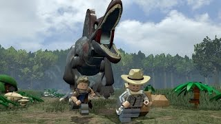 LEGO Jurassic Park 3 Full Movie All Cutscenes Cinematic