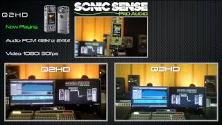 ZOOM Q2-HD vs. Q3-HD: Audio and Video Test.