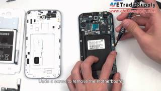 Samsung Galaxy Note 2 disassembly/take apart/tear down tutorials