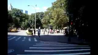 Central Park Skating Dancers PT-1 Heading to the Park !