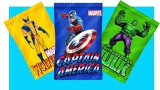 Learn Colors with Superheroes Candy - Finger Family Captain America Nursery Rhyme Colors For Childre