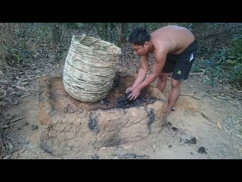 Xxx Mp4 Primitive Life Make Charcoal By Wet Wood And Open Stove 3gp Sex