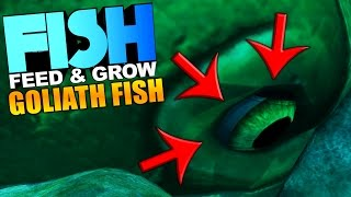 Feed And Grow Fish - GOLIATH FISH CONSUMES THE WORLD, GOLIATH CANNIBALISM - Feed And Grow Gameplay