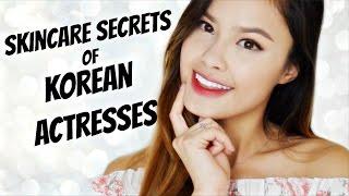 SKINCARE SECRETS OF KOREAN ACTRESSES | Korean Beauty Tips from K-Drama Stars!