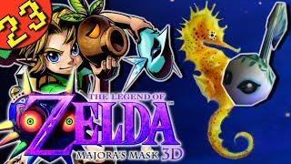 Legend Of Zelda Majora's Mask 3D - Part 23 - Zora Eggs At Pinnacle Rock