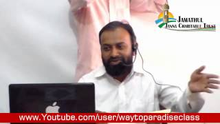 Convert to Islam (Tamil) Ibrahim MCA @ Muthu 29-03-2015 Way to Paradise Class