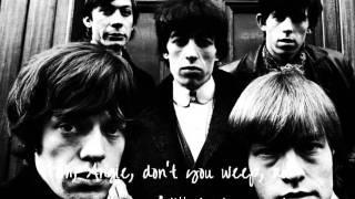 The Rolling Stones - Angie (lyrics)