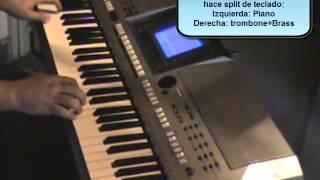 Demo ritmo Guaco en Yamaha PSR S700 - Curso Programa tu teclado yamaha PSR 700 o 900