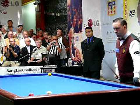 Frédéric Caudron s Winning Run Sang Lee International 2007 Pool & Billiard
