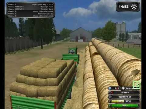 Symulator Farmy 2011 Zbieranie i zwożenie snopków