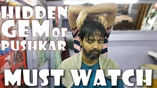 The Best of Head Massage at Cosmic Barber's brother Salon | Travel Series Video 08