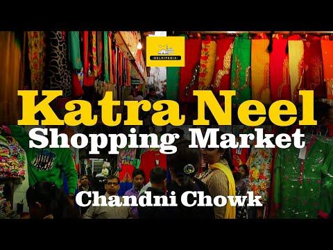 Katra Neel Shopping Market in Chandni Chowk, Delhi