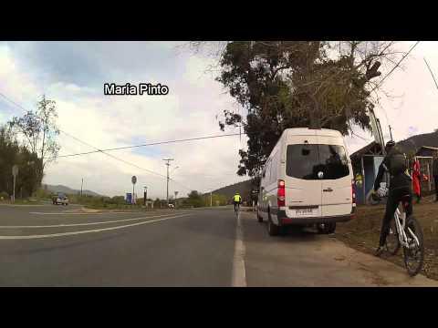 Stgo - Las Cruces. 108 kms en bicicleta