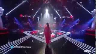 "مروة ناجي ""برضاك"" The Voice 2014 الموسم الثاني"