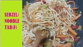 Chinese Vegetable Noodles Recipe / Çin Usulü Sebzeli Noodle Tarifi
