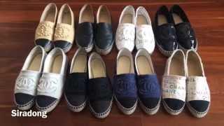 รีวิวรองเท้า Chanel espadrilles (Thai with Eng annotations)
