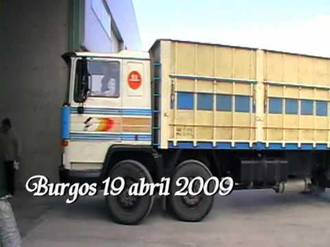 Camiones clásicos en Burgos