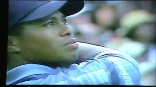 CMGUS VCR CLASSIC: PGA TIGER WOODS  FRED FUNK KELO CBS SPORTS NEWS 15 AUGUST 2002