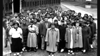 Rosa Parks sat down and Barbara Johns stood up