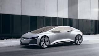 Audi AICON // driving scenes demo