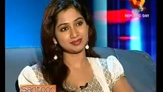 Shreya Ghoshal Kairali TV INTERVIEW Part 1