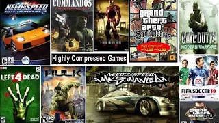 How to Download Highly Compressed Games For Android And PC 100% Working