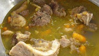 Jinsi ya kupika supu ya nyama ya mbuzi