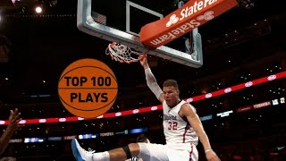Top 100 Plays of the 2015 NBA Season