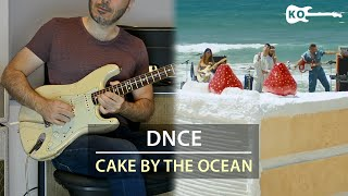 DNCE - Cake By The Ocean - Electric Guitar Cover by Kfir Ochaion