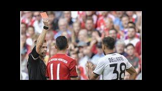 Nach Roter Karte: Lange Sperre für Bayer Leverkusens Karim Bellarabi