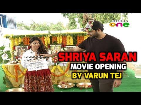 Xxx Mp4 Shriya Saran New Movie Opening By Varun Tej Telugu Latest Movie 2018 Studio One 3gp Sex