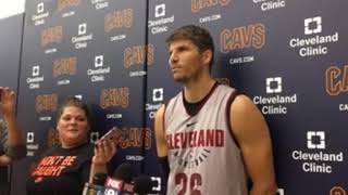 Kyle Korver discusses the changing style of the Cleveland Cavaliers