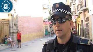 160718 - Policía Local Málaga - Feria 2016 - Acompañamiento GOA - Onda Azul