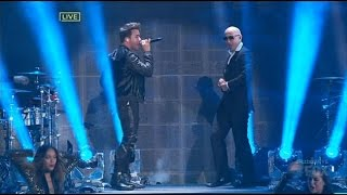 Prince Royce & Pitbull - Time Of Your Lifes y Back It Up (New Year's Eve Revolution 2015)