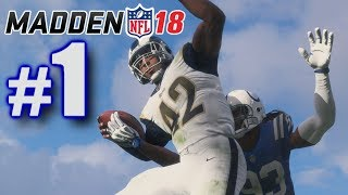 INCREDIBLE START TO MY CAREER! | Madden 18 | Career Mode #1