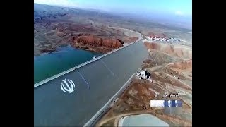 Iran made Karam-Abad hydro dam, Pol-Dasht county ساخت سد كرم آباد پلدشت ايران