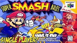 Super Smash Bros. Retrospective! 64 Single Player - YoVideogames