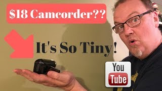 Onn Walmart Camcorder for under $20 ONA17CA010  ONN Review