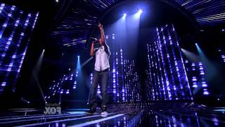 X Factor USA - Astro - Never Can Say Goodbye - Elimination Show .mov