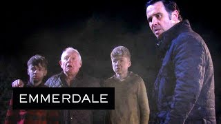 Emmerdale - Graham Bravely Rescues the Dingle Boys From the Rubble