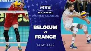 Belgium v France highlights - FIVB World League