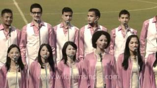 NE Tamchon Trophy Shillong Chamber sings Ye Dosti