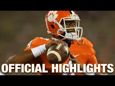 Deshaun Watson Official Highlights Clemson Tigers Quarterback