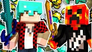 UNLIMITED DIAMONDS x1000 BUT IS IT ENOUGH?! | Minecraft Money Wars w/BajanCanadian & PrestonPlayz